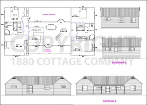 Model H4 - Double Bay Villa from 1880 Cottage Co